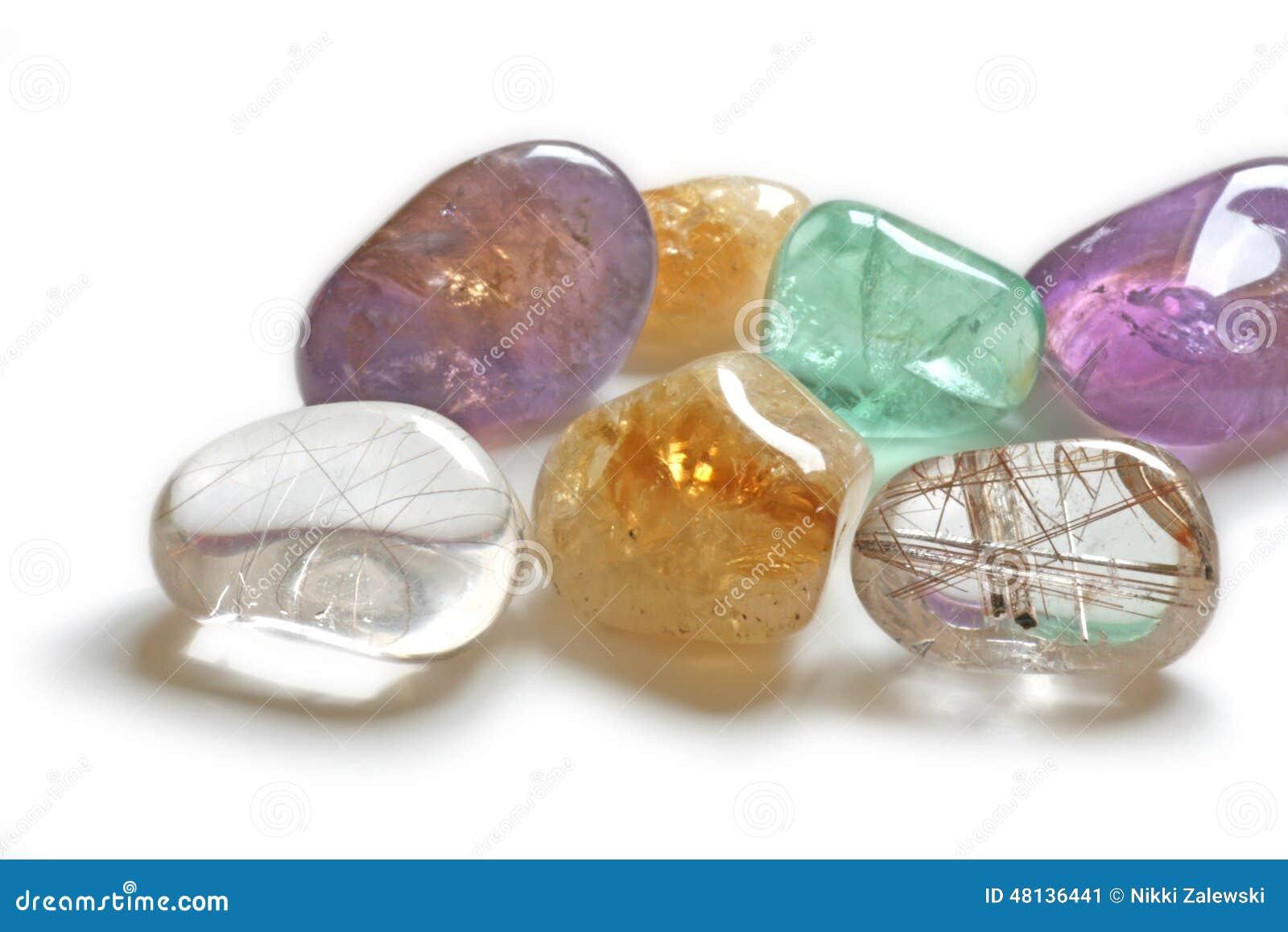 Zamyka up Leczniczy kryształy