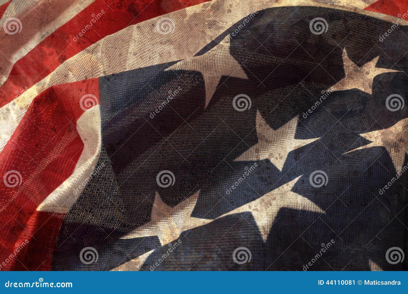 Zamyka w górę flaga Zlany stan Ameryka