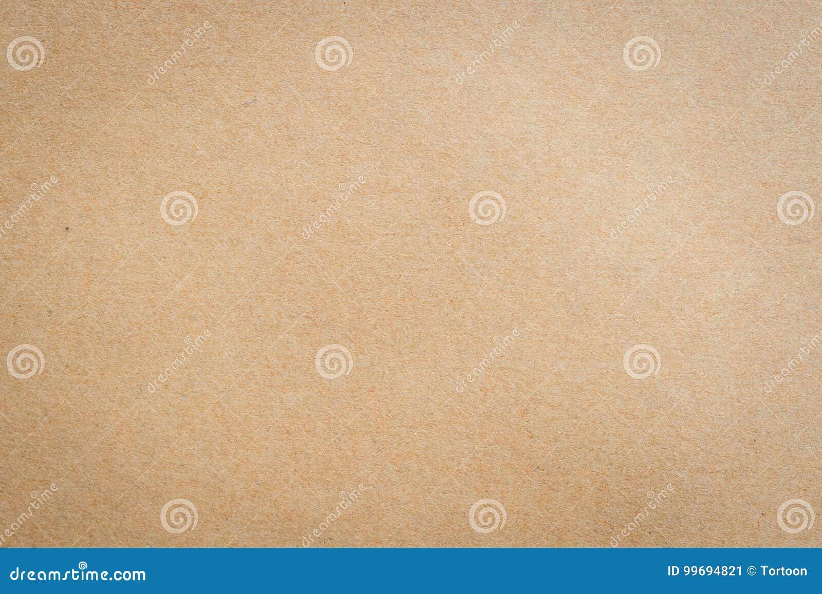 Zamyka w górę Kraft brown papieru tła i tekstury