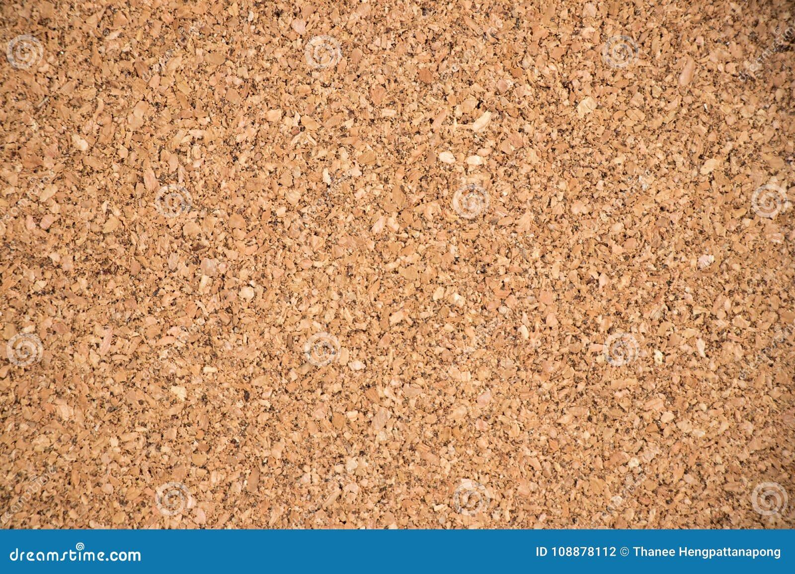Zamykający up brązu korka deski tekstury tło