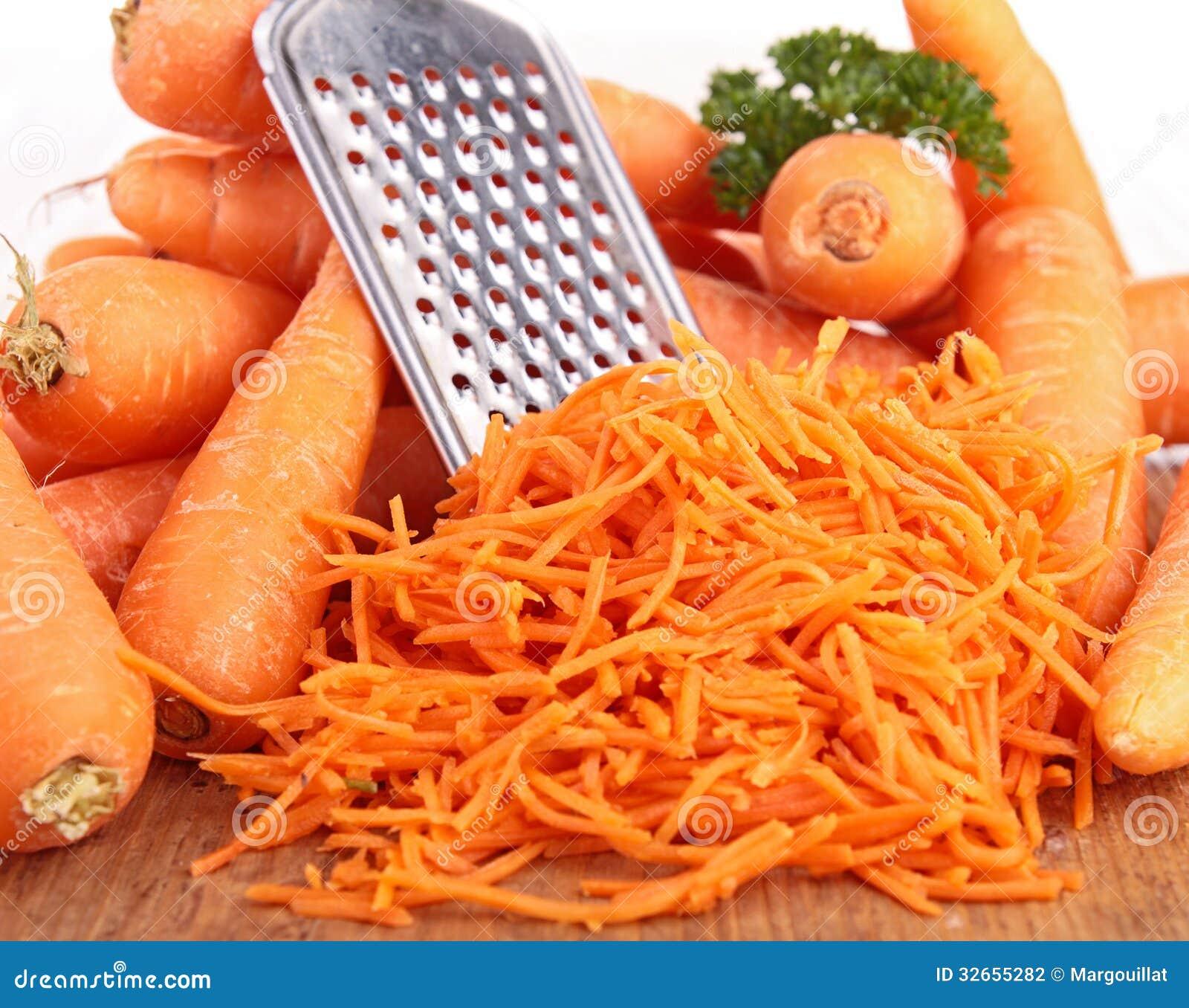 Zanahoria rallada foto de archivo imagen de cocinero for La zanahoria es una hortaliza