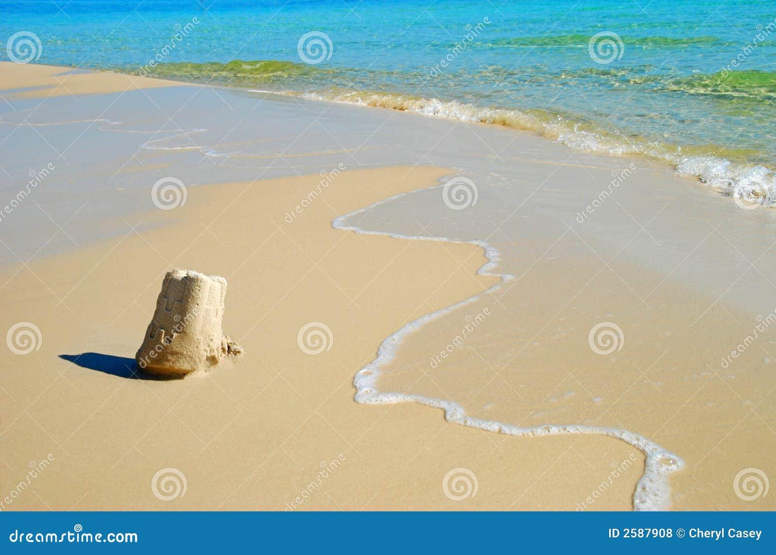 Zandkasteel bij de Kust