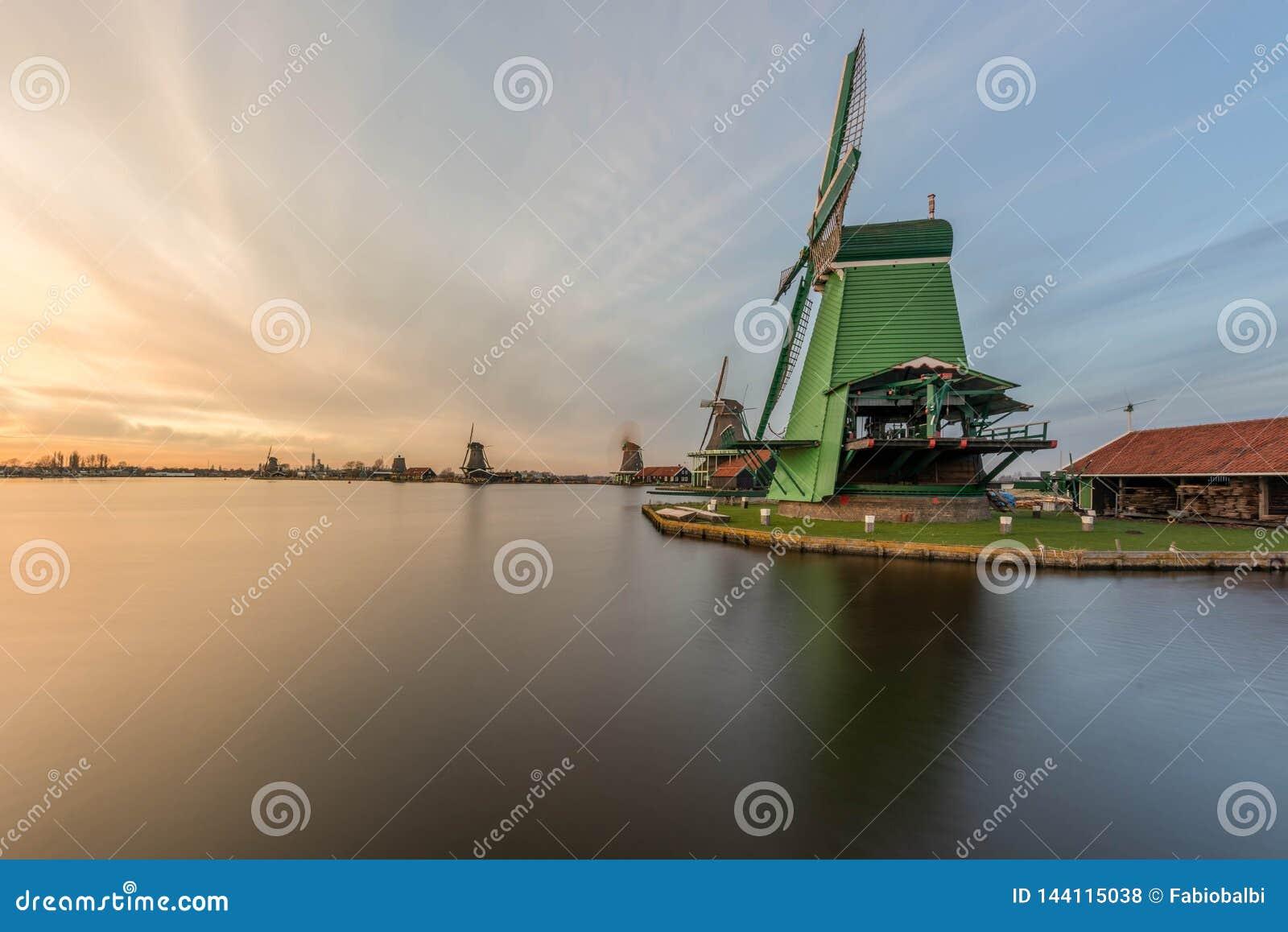 Zanes-Schans netherlands Olandese, mulino