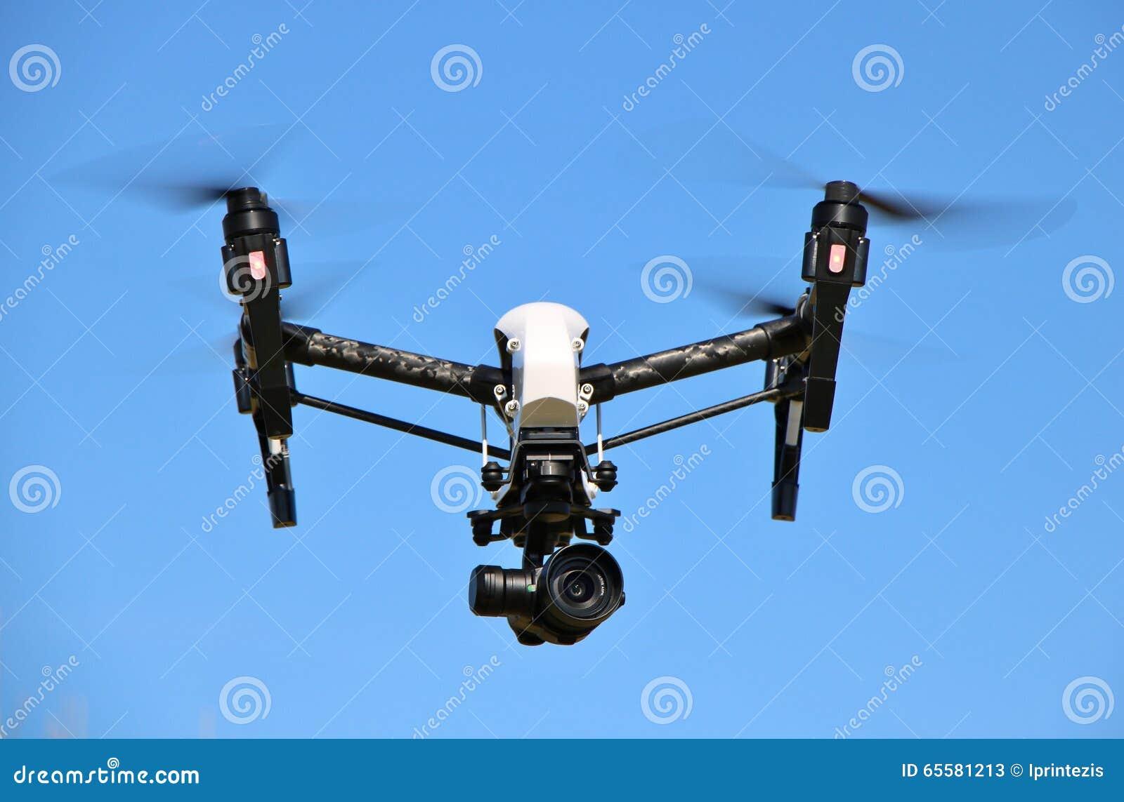 Zangão com câmara de vigilância