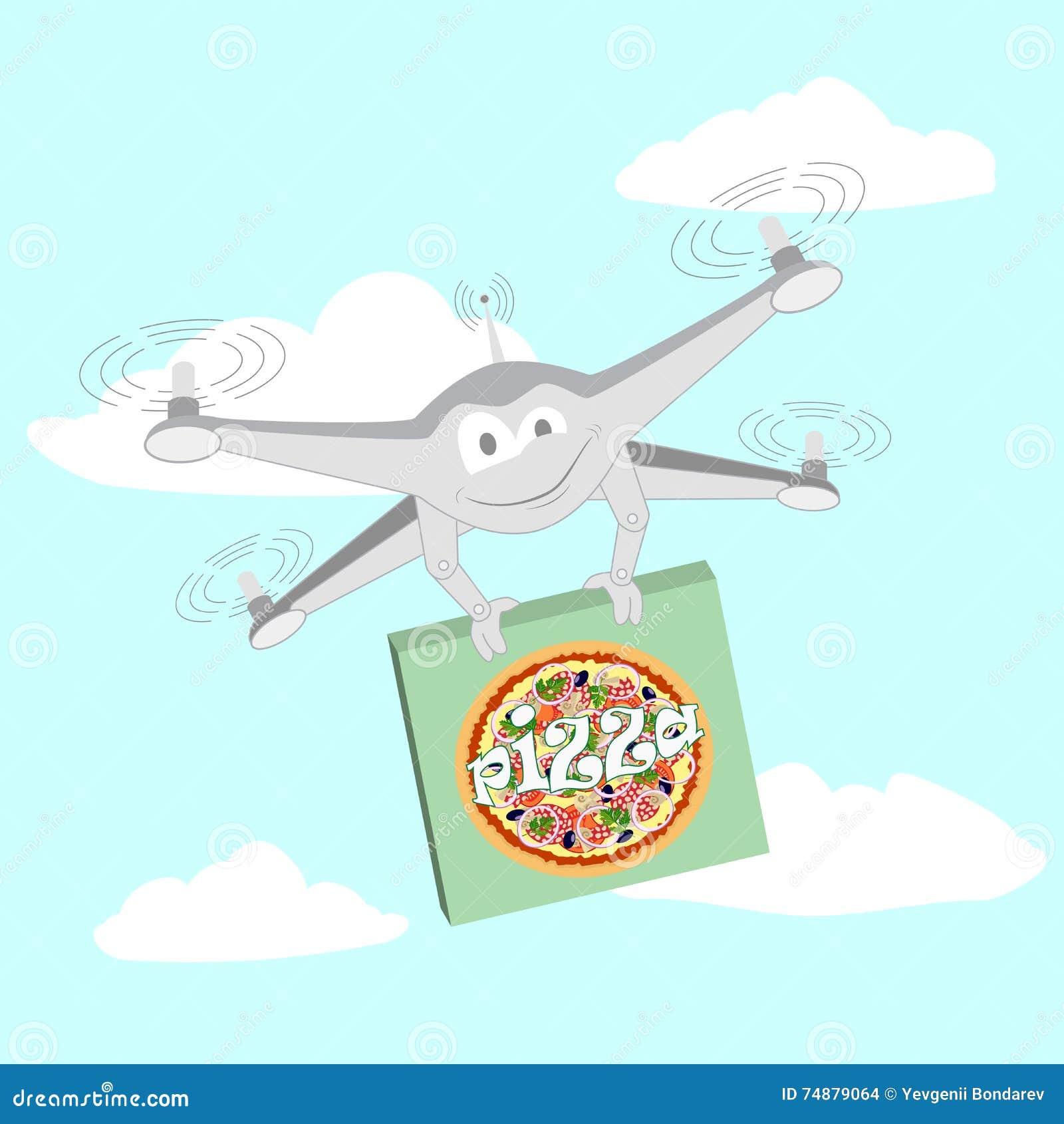 Zangão engraçado Pizza