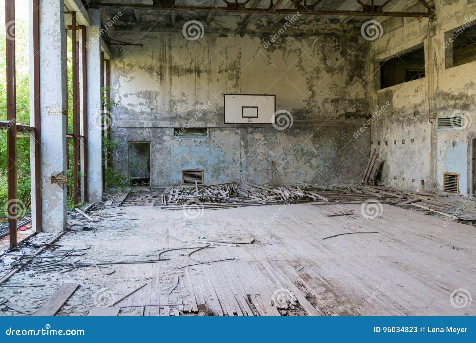 Zaniechany gym w Chernobyl