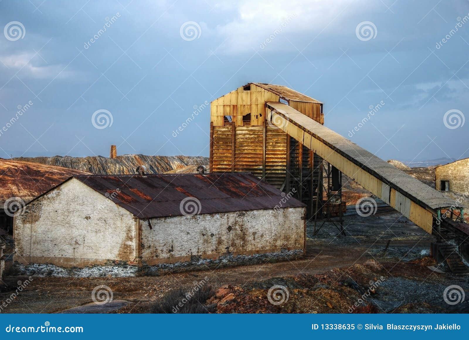 Zaniechany przemysłowy kopalniany Spain