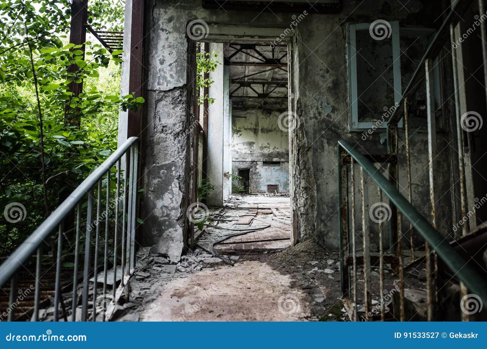 Zaniechany szkolny ganeczek w Pripyat