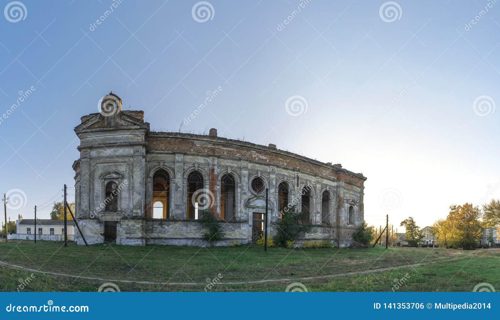 Zaniechany Zelts kościół katolicki, Ukraina