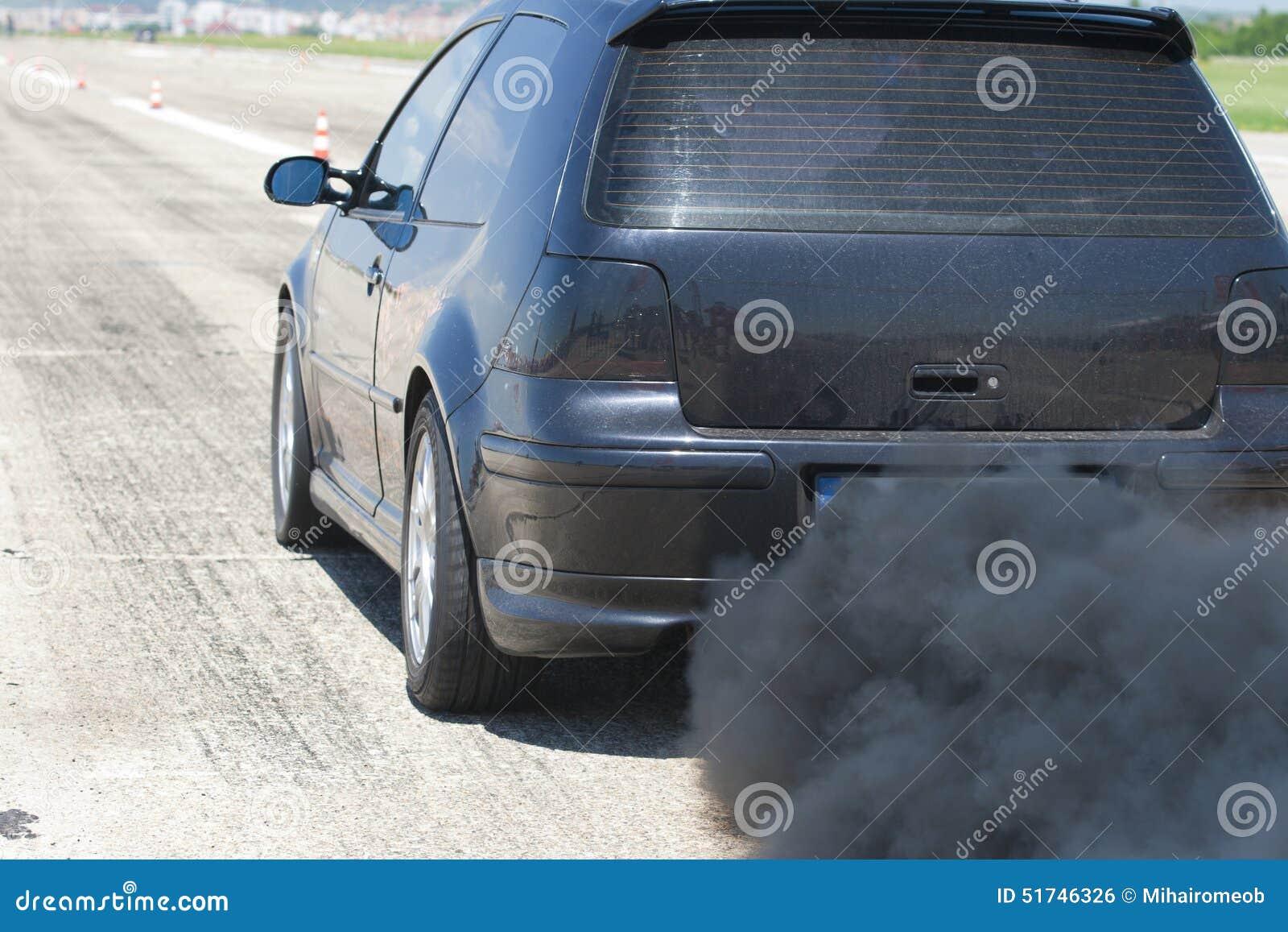 Zanieczyszczenie samochód