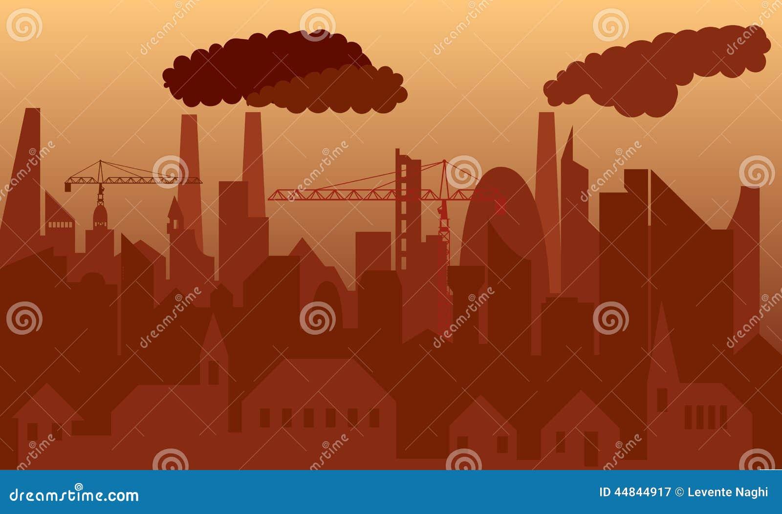 Zanieczyszczone miasta