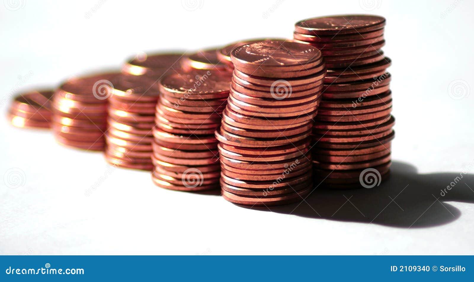 Zanika zewnętrzne centów