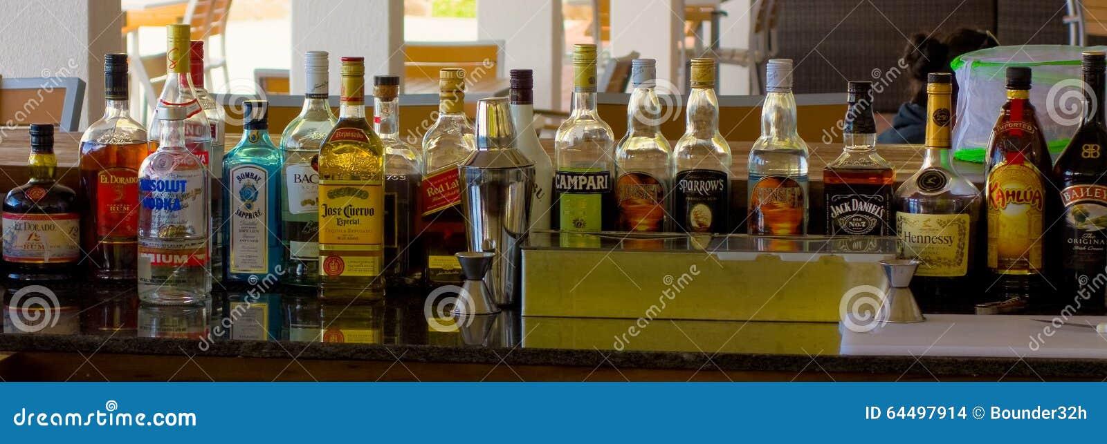 Zaopatrujący bar w karaibskim