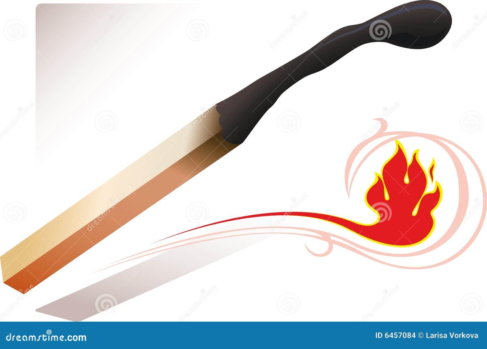 Zapałkę ognia