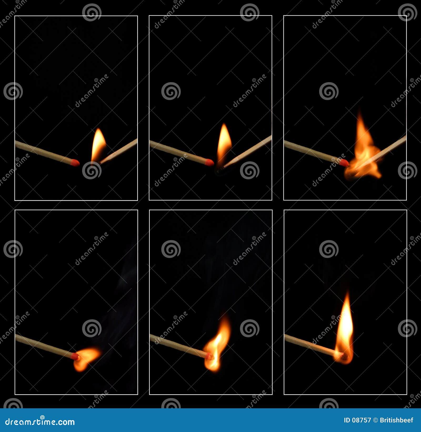 Zapałkę zapłonu
