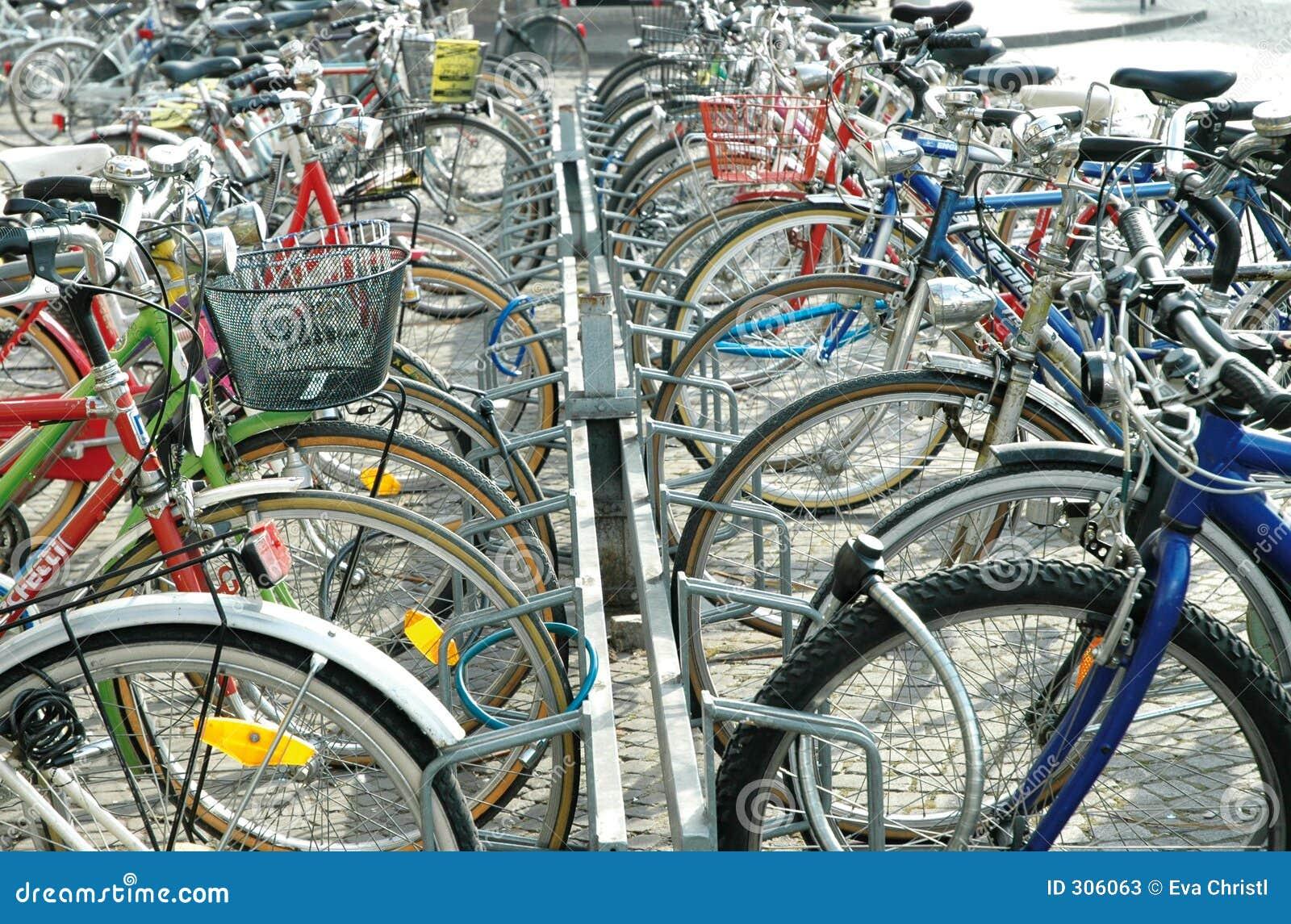 Zaparkować rowerów