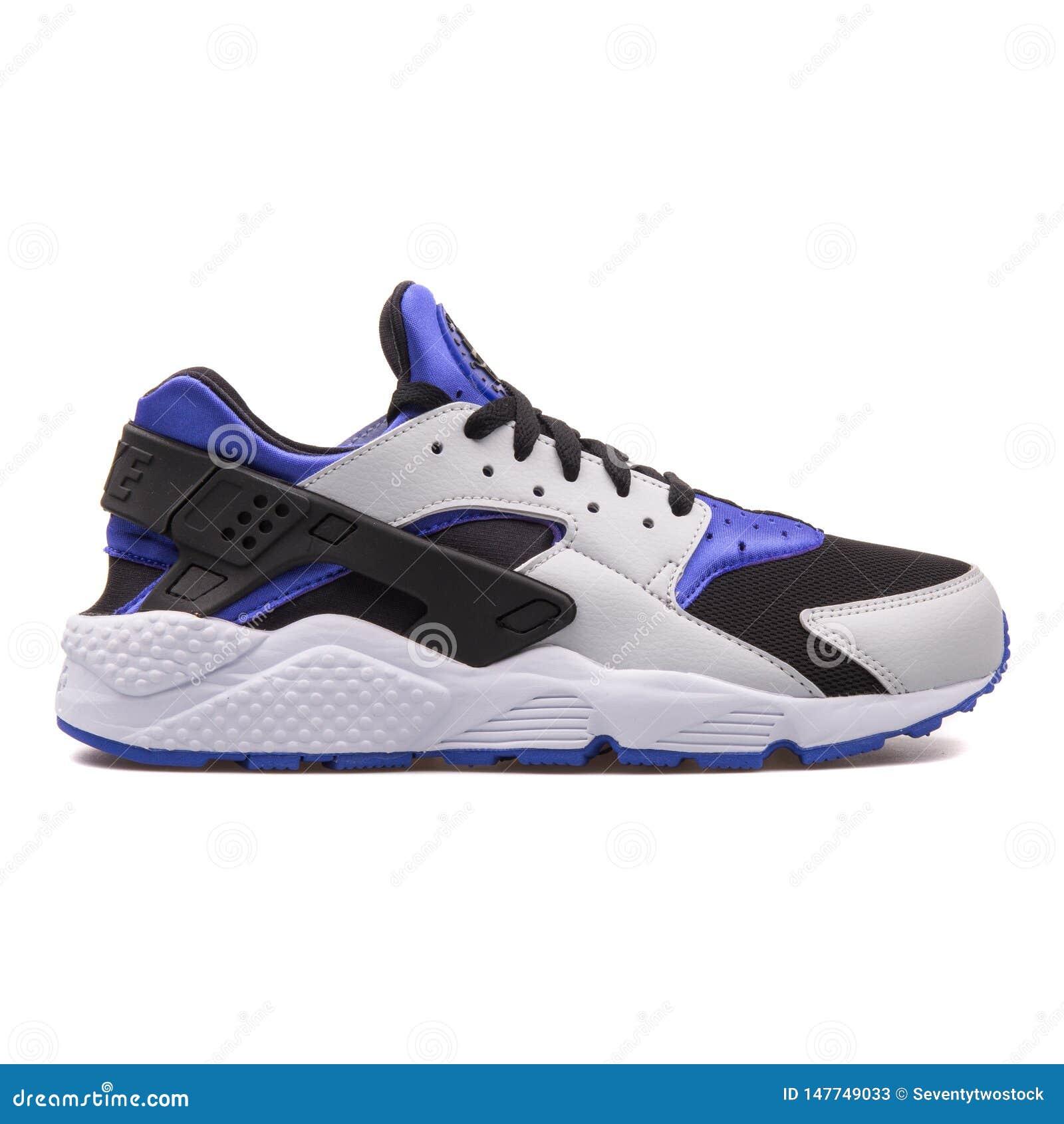 zapatillas huarache Azul