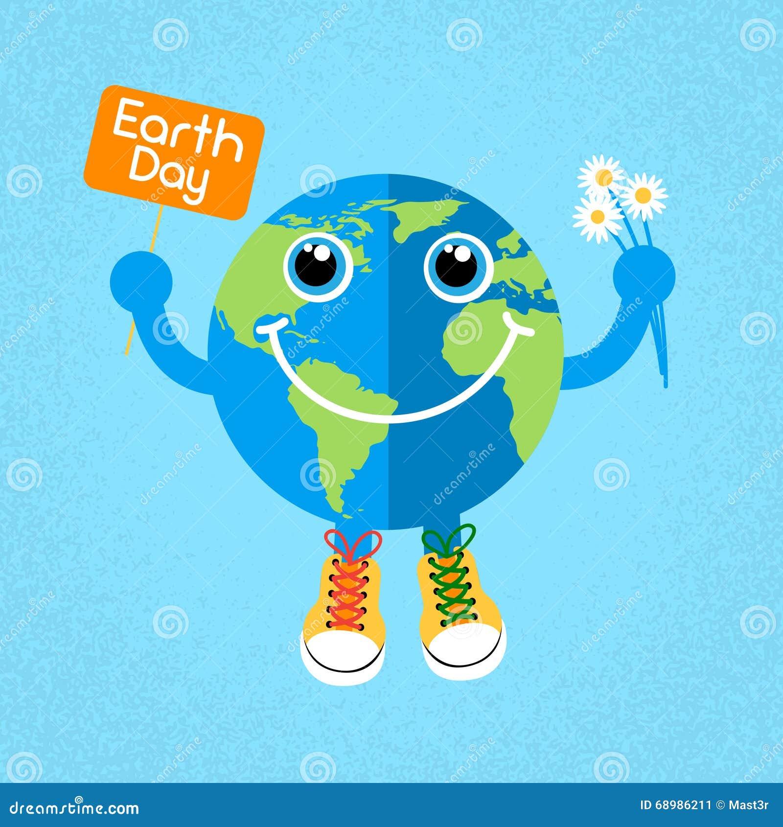 Zapatillas de deporte de los zapatos de los instructores del desgaste del globo del Día de la Tierra
