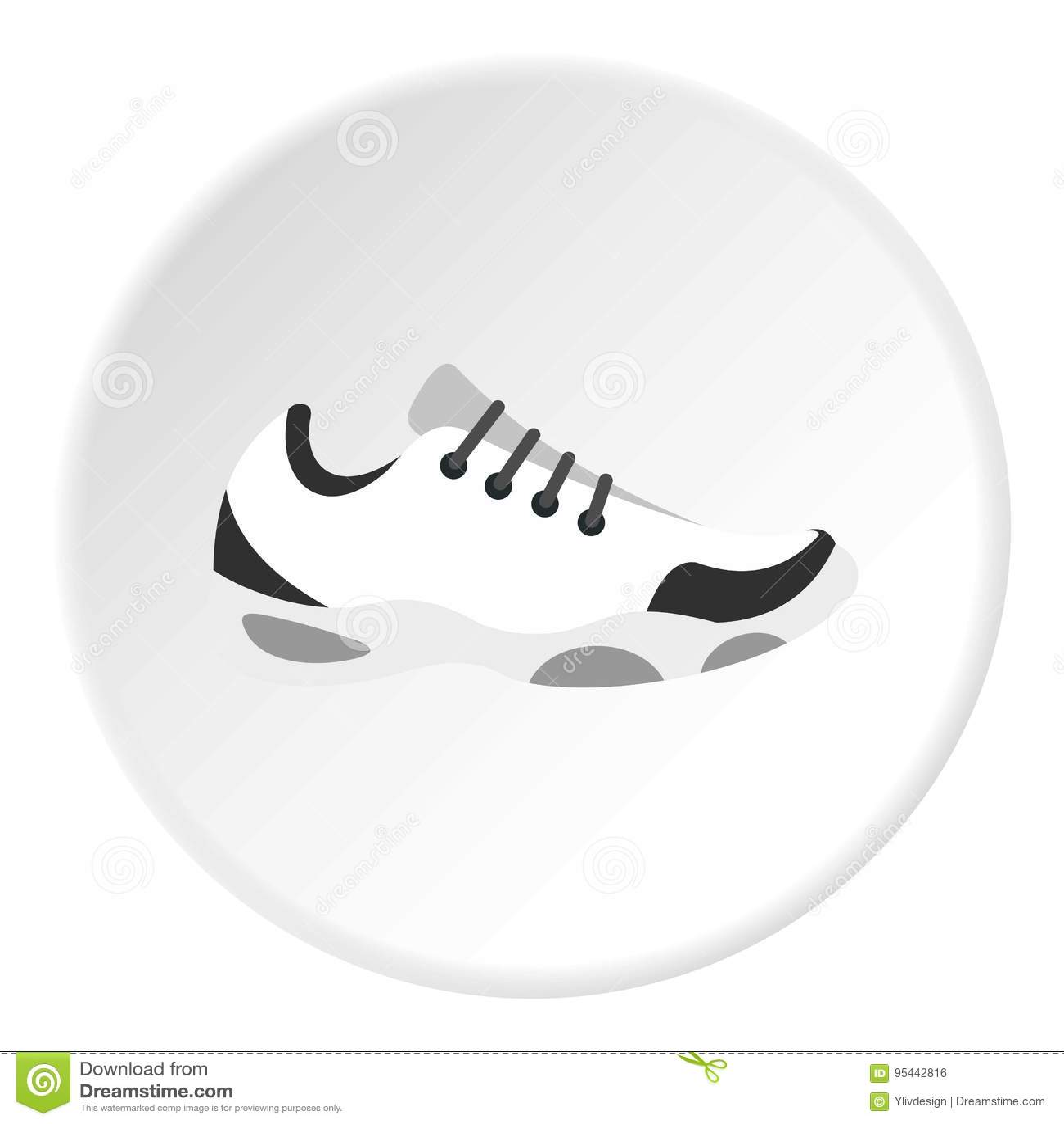 Deporte Para De Tenis Zapatillas El Círculo Icono Del PZiXTwOku