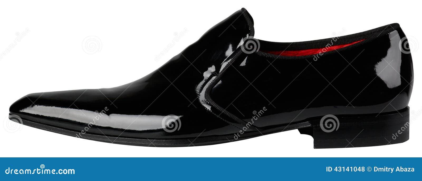 4d7e9b2669a9a Zapatos Clásicos Para Hombre Negros Foto de archivo - Imagen de ...