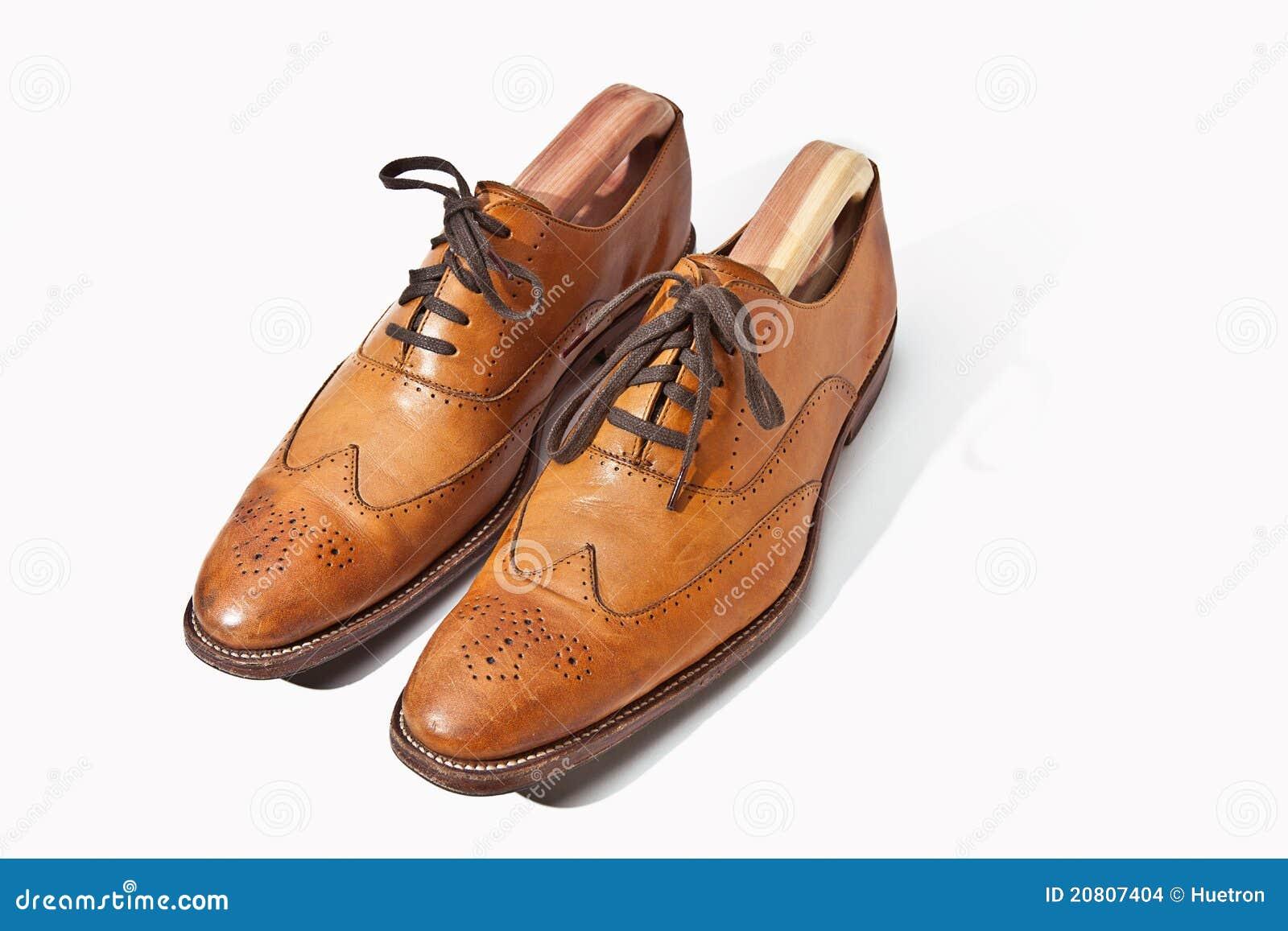 Zapatos de la abarca de Tan del Mens