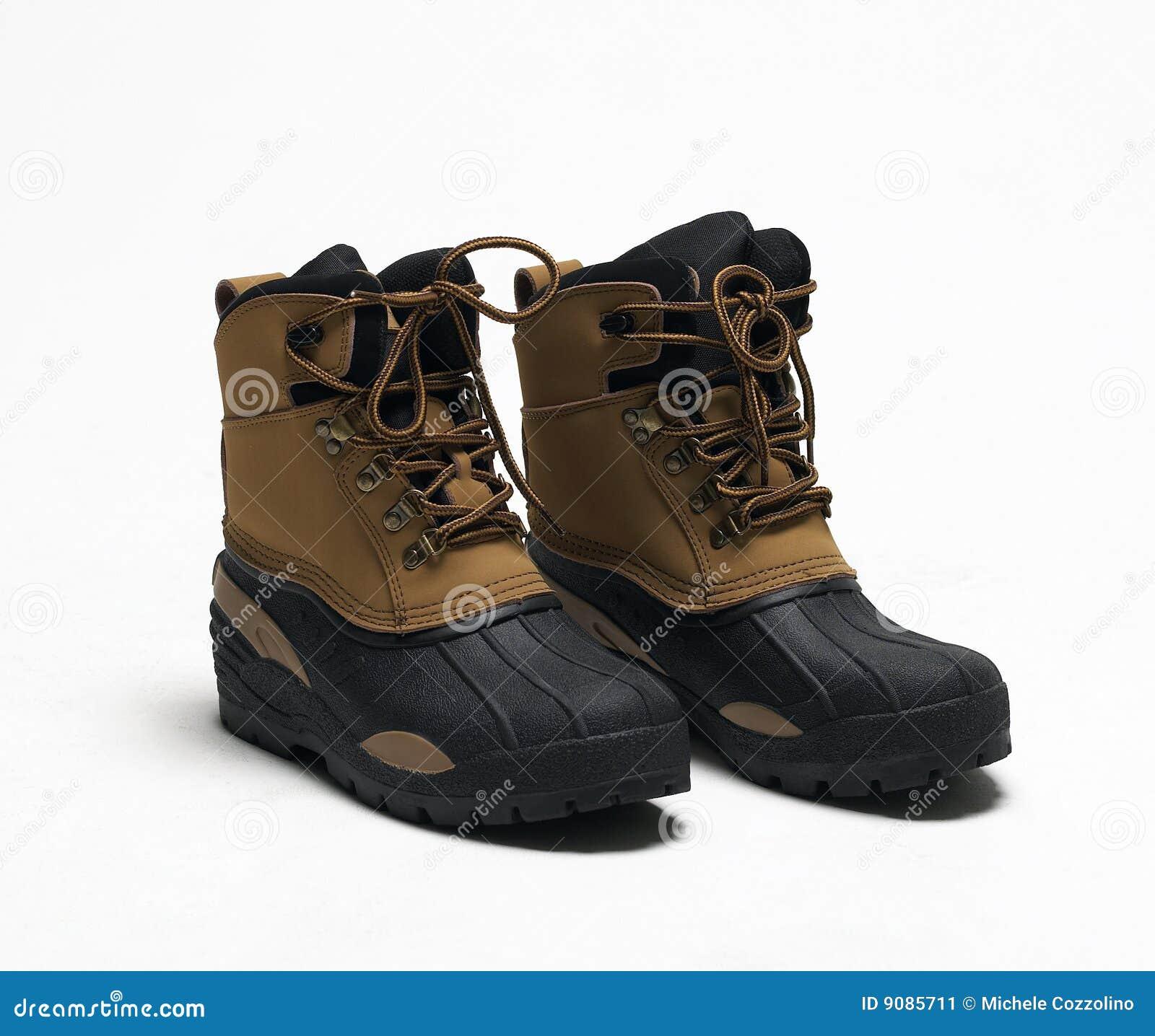 Zapatos de seguridad imagen de archivo imagen de aislado - Calzados de seguridad ...