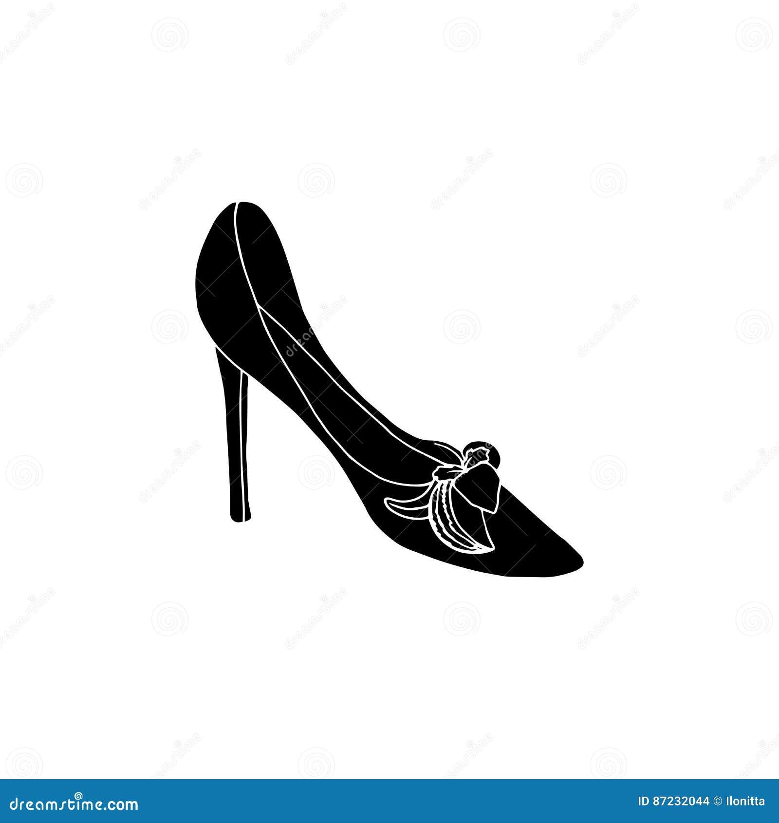 Alto Ilustraciones Del Calzado Para Mujer La Tacón De Zapatos Y0aEqw6Ow