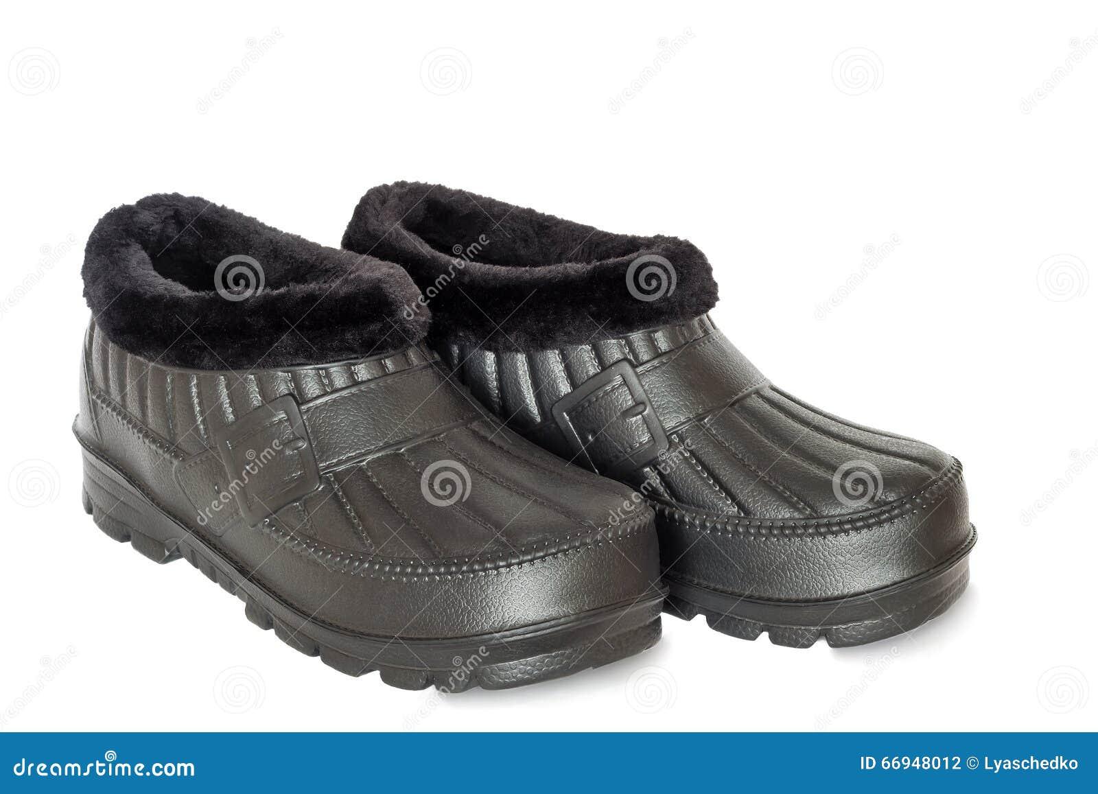 Trabajo Cómodos Foto Un Zapatos En De Impermeables Blanco Fondo fgY76bvy