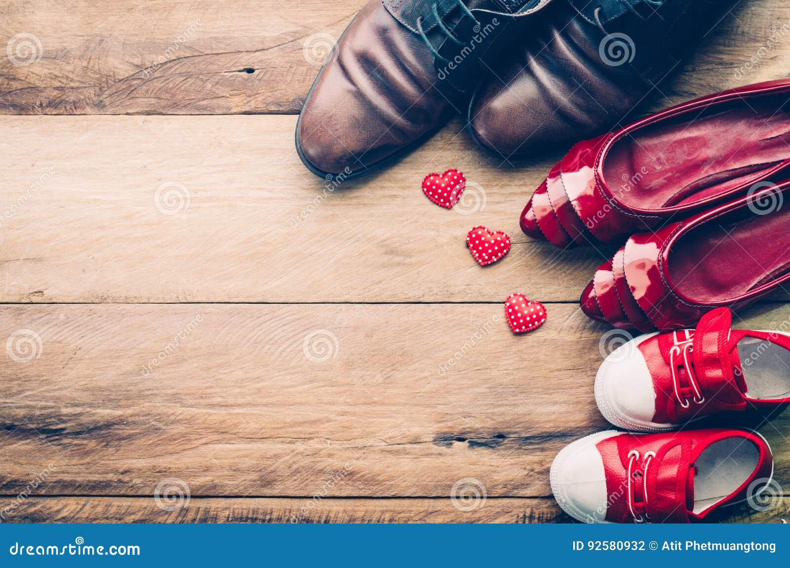 El Para Familia Una Foto Para La De Corazón Familia Zapatos Amor Del vm0N8wn