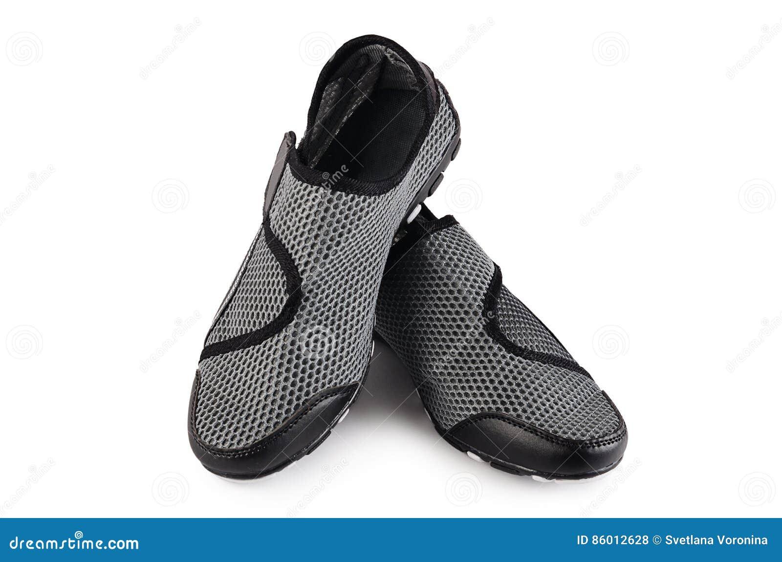 las mujeres en Zapatos elegantes blanco deporte del aislados de Ix6xPqaw1