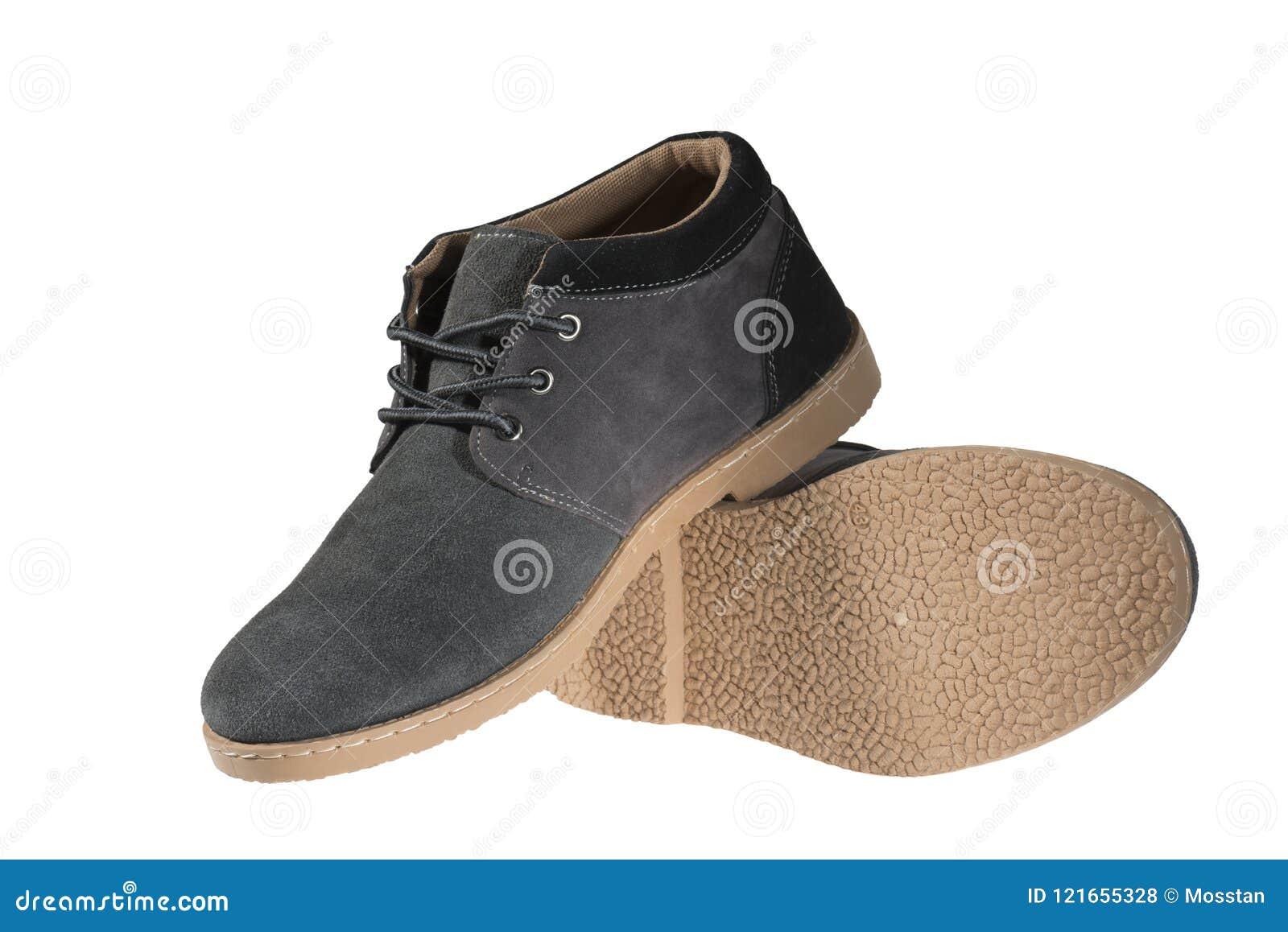 S Cordones ` Hombres Con Hechos Zapatos Grises De Los Del TclF1JK