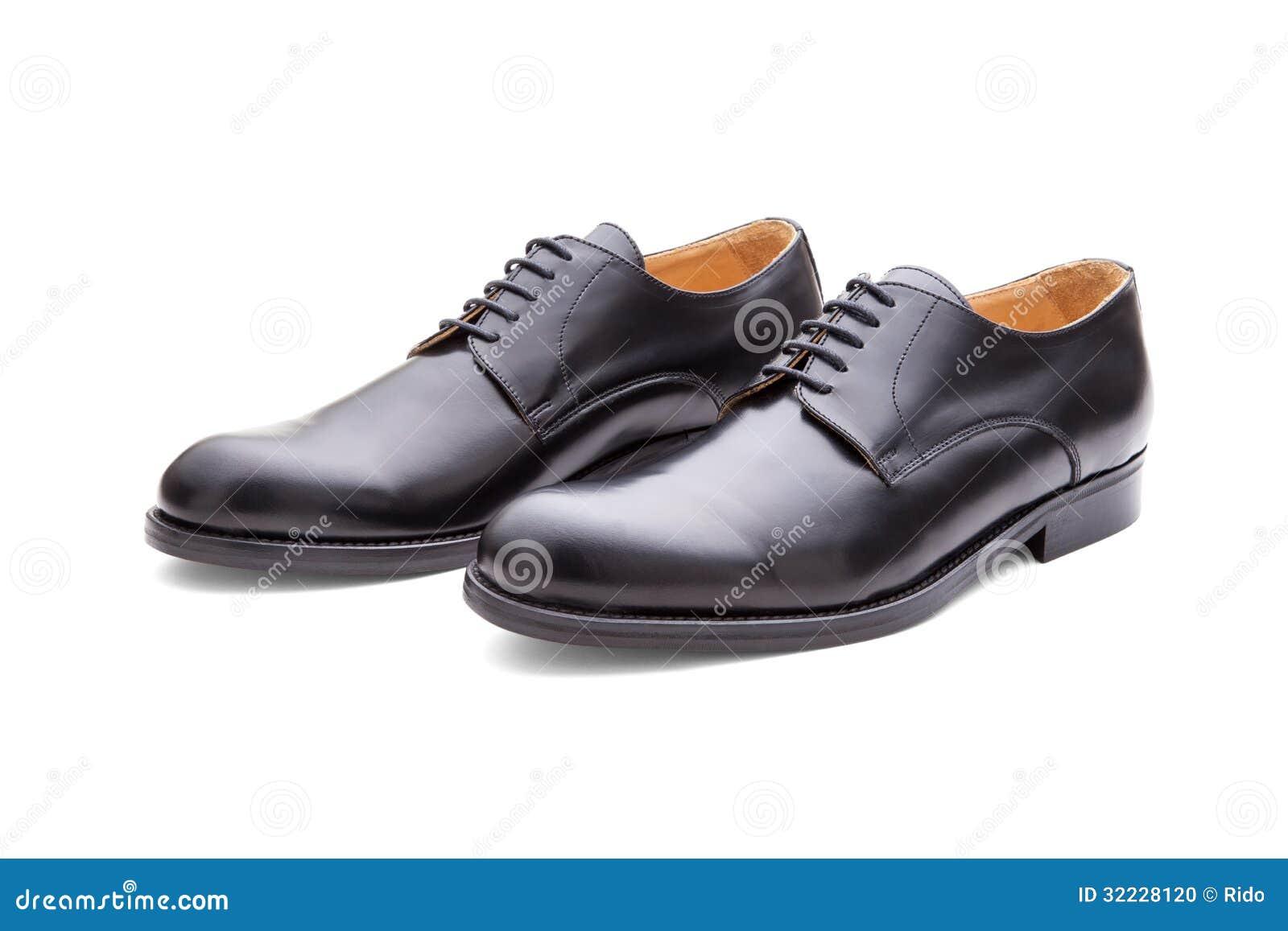 a753967bf2 Zapatos Negros Clásicos Para Los Hombres Foto de archivo - Imagen de ...
