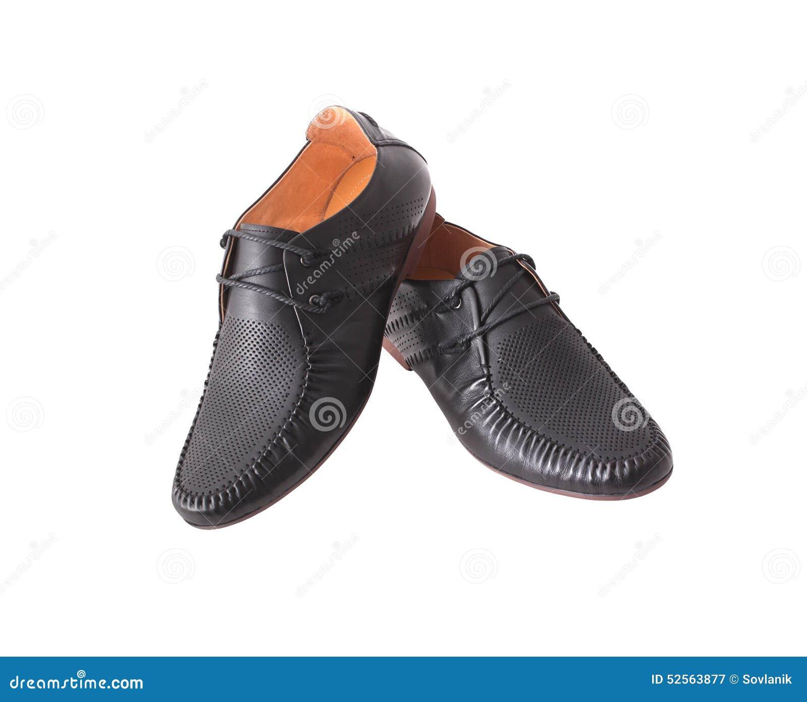 c3563216b Zapatos Para Un Hombre Joven Imagen de archivo - Imagen de marrón ...