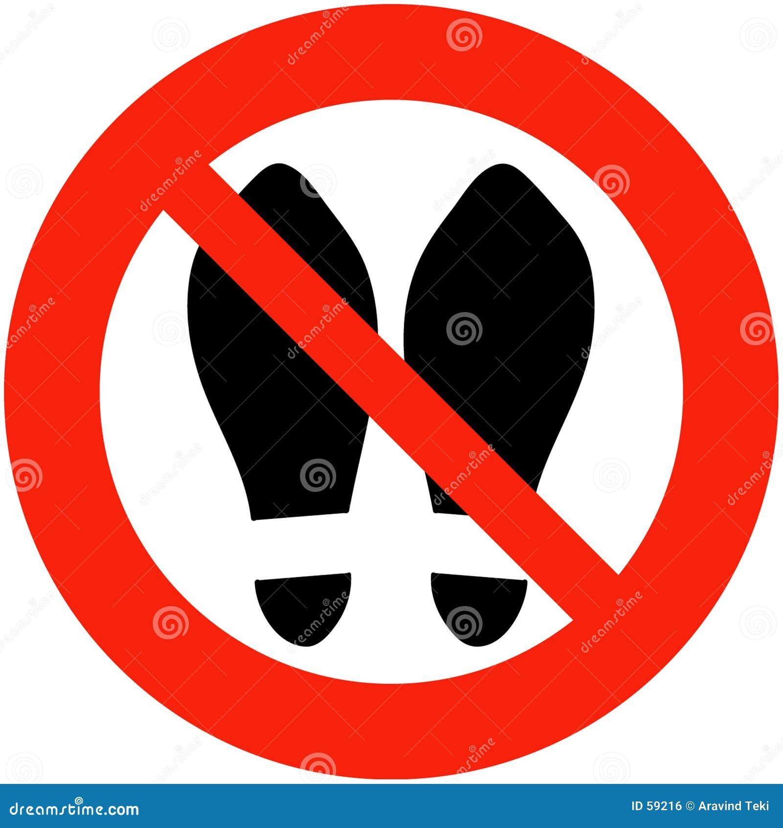 Zapatos prohibidos