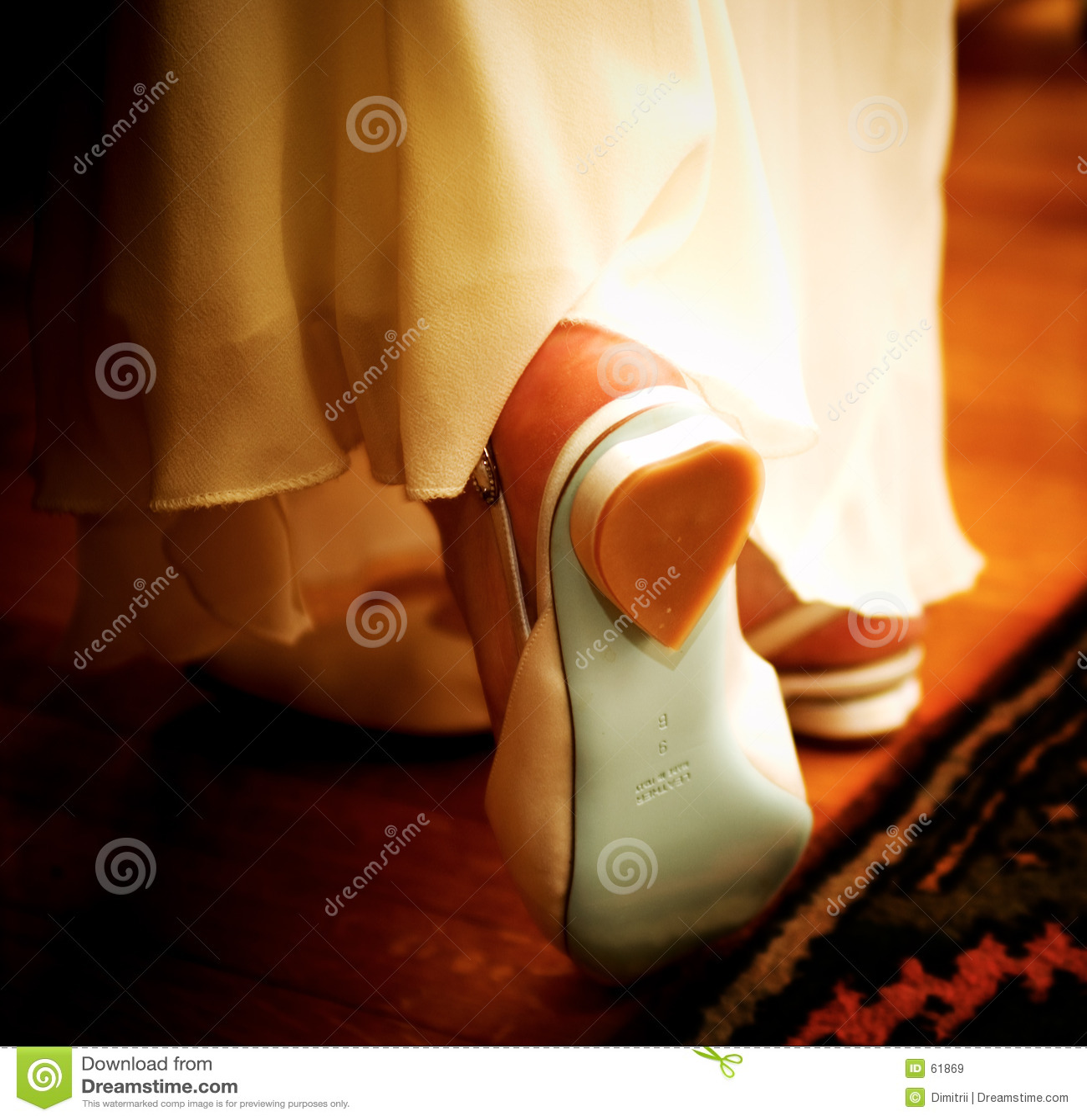 Zapatos románticos