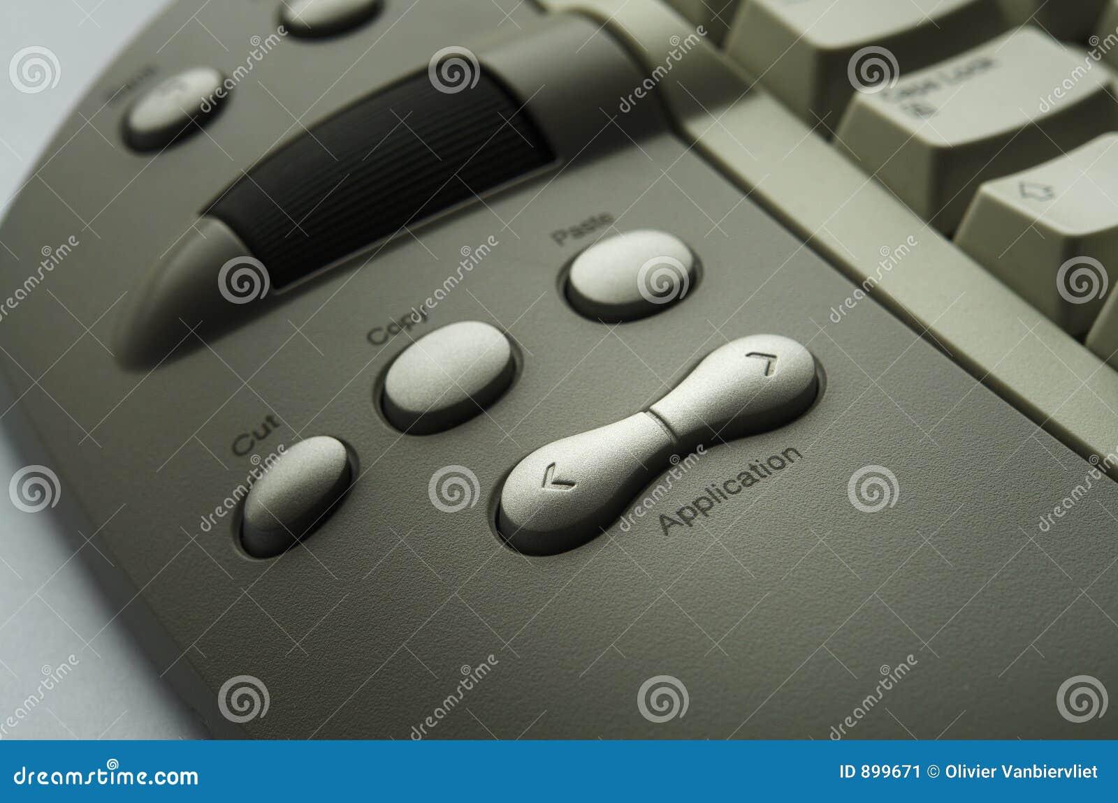 Zapnij klawiaturowego urzędu
