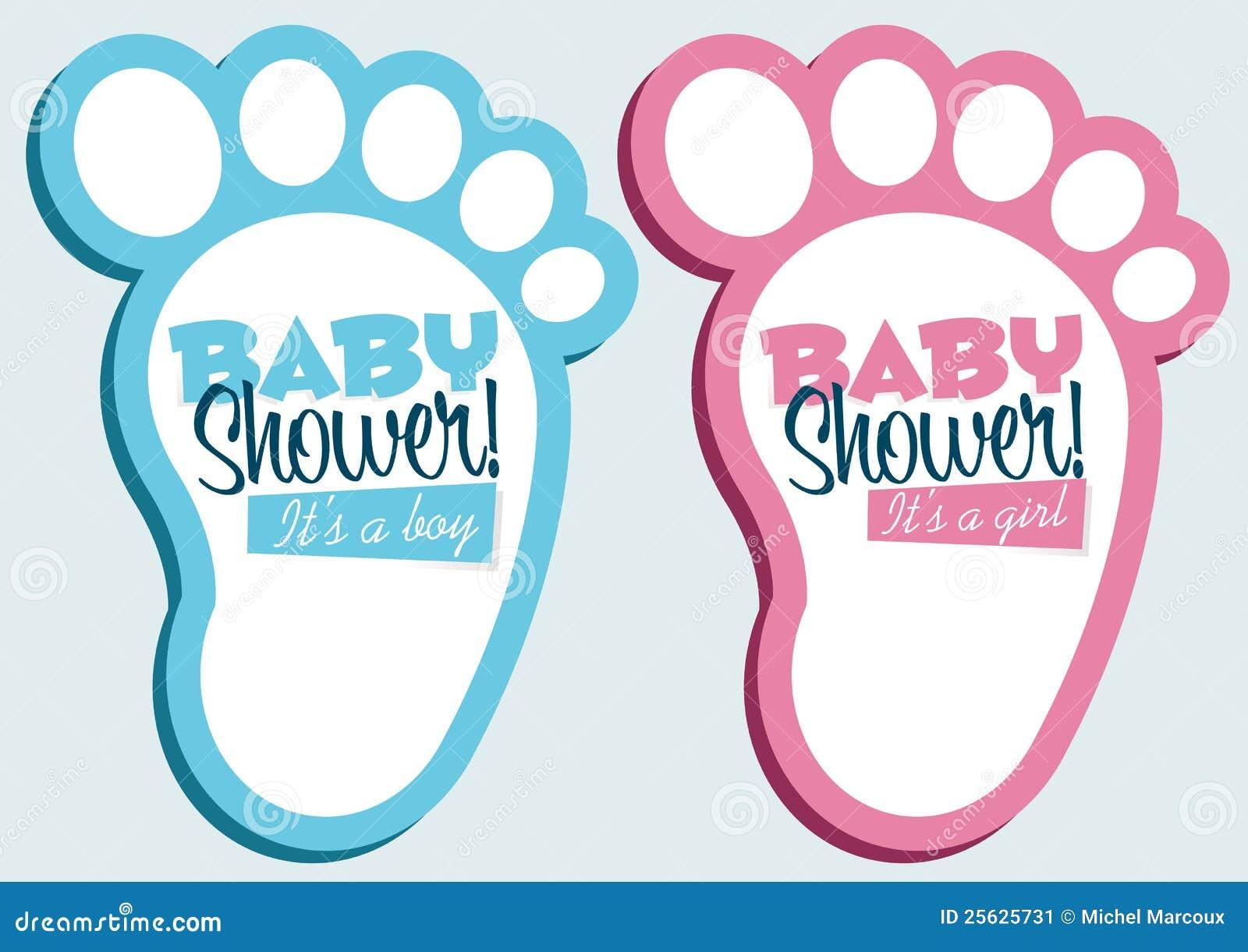 Zaproszenie prysznic dziecko karty
