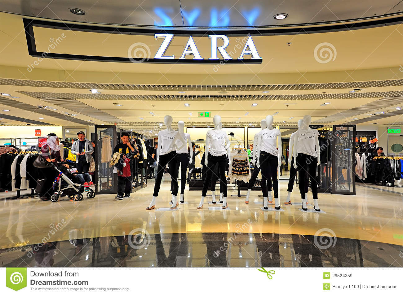 Zara clothing store locator