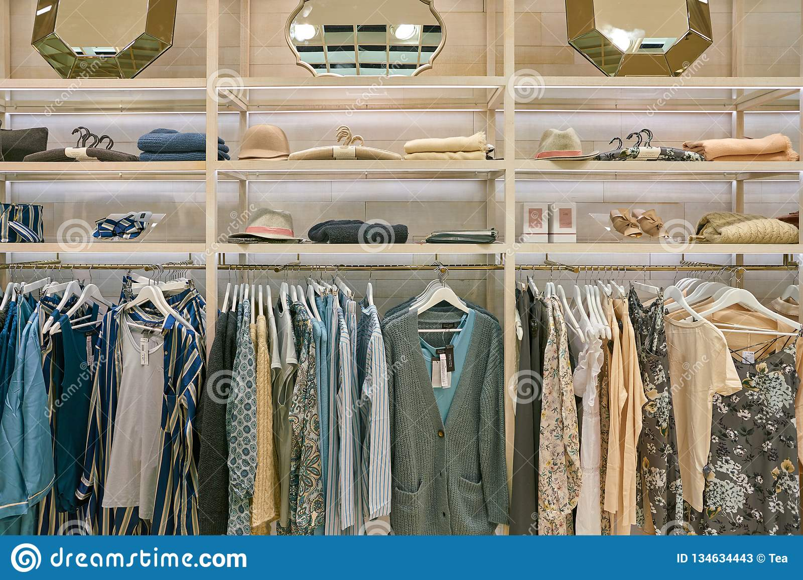 Zara Home Editorial Stock Photo Image Of Home Market 134634443