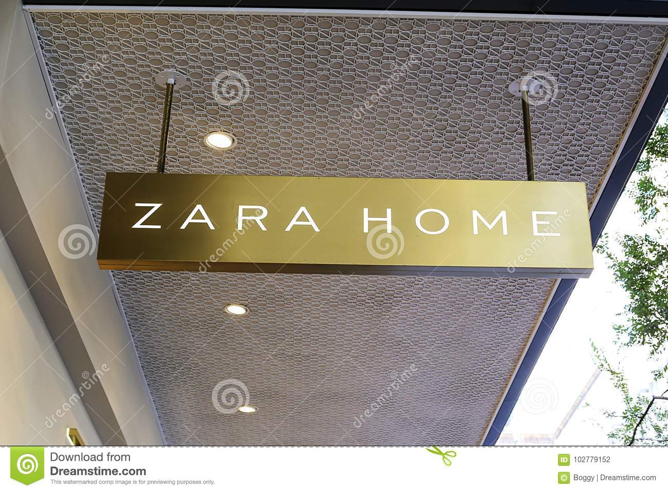 Zara Home shop editorial photography  Image of house - 102779152