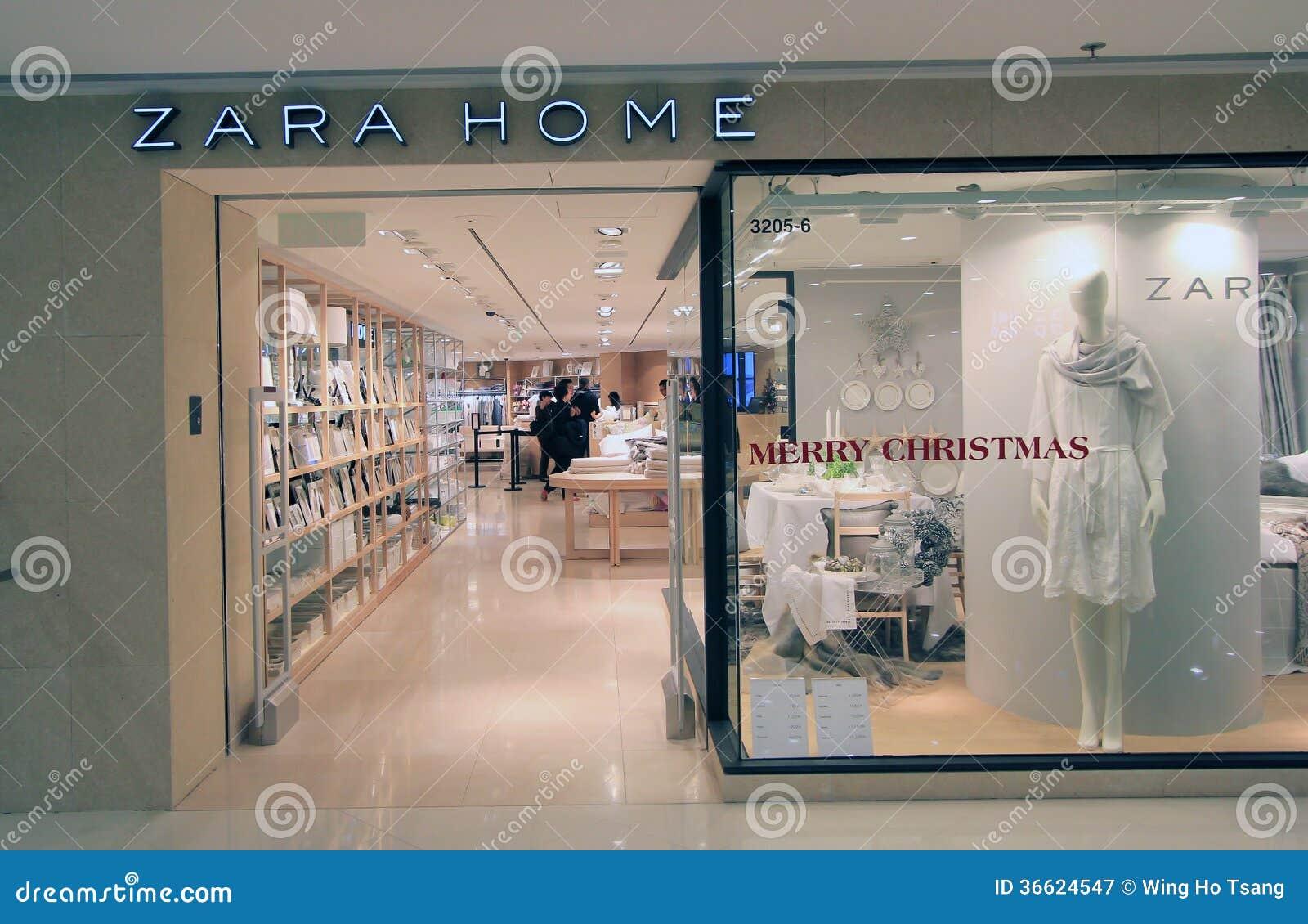 Zara shop on the street passeig de gracia in barcelona for Perchas zara home