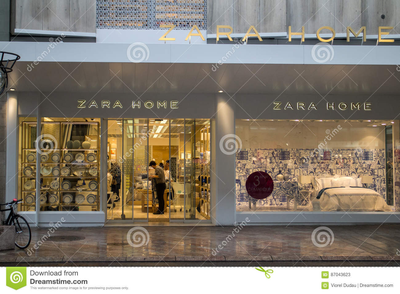 Zara Home shop editorial stock photo. Image of store - 87043623 df6f387967