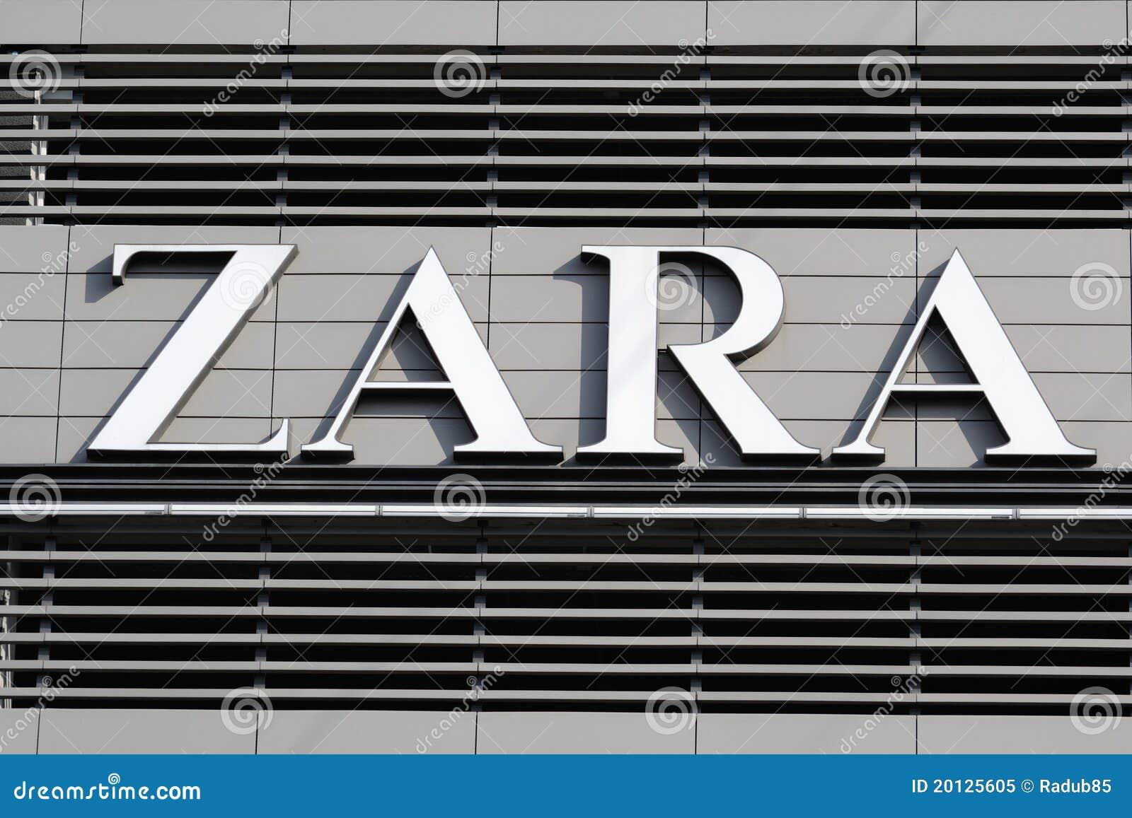 Best Home Goods Stores Zara Logo Editorial Image Image 20125605