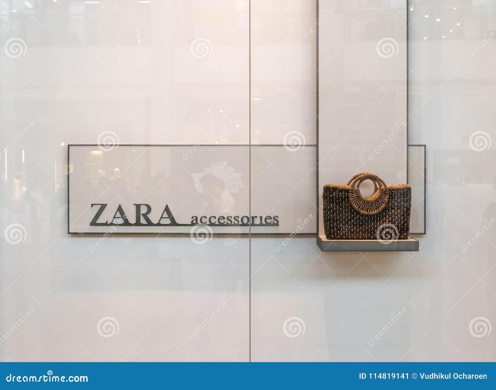 Zara Shop At Emquatier Bangkok Thailand April 1 2018 Editorial
