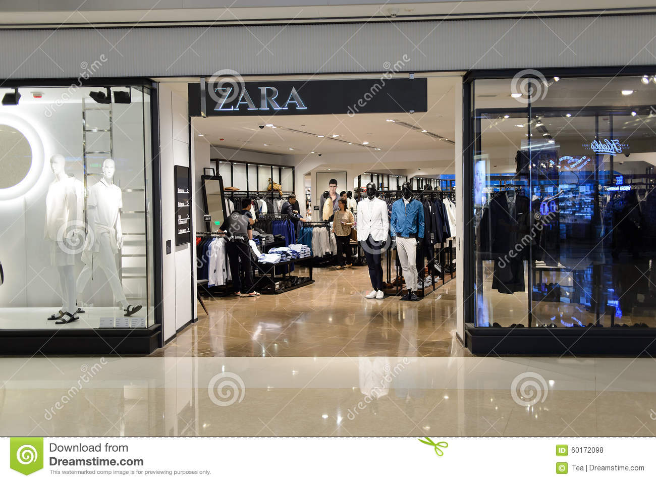 Zara clothing store in bangalore
