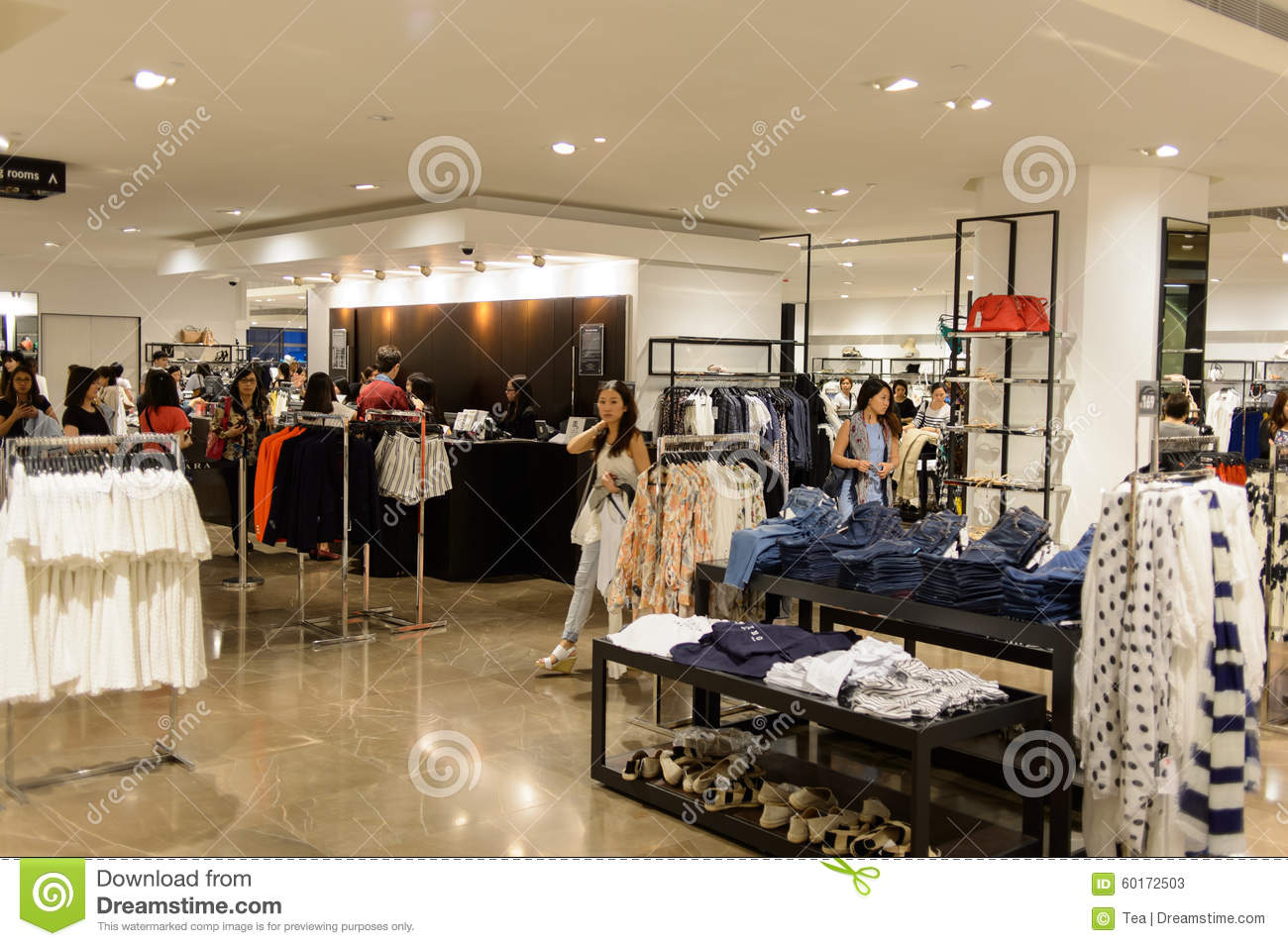 California based clothing stores