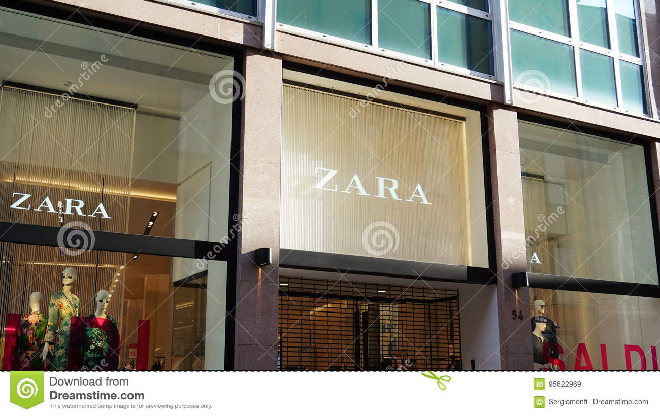 89b9dc9b1a Zara store. Zara is a Spanish clothing and accessories retailer founded in  1975.