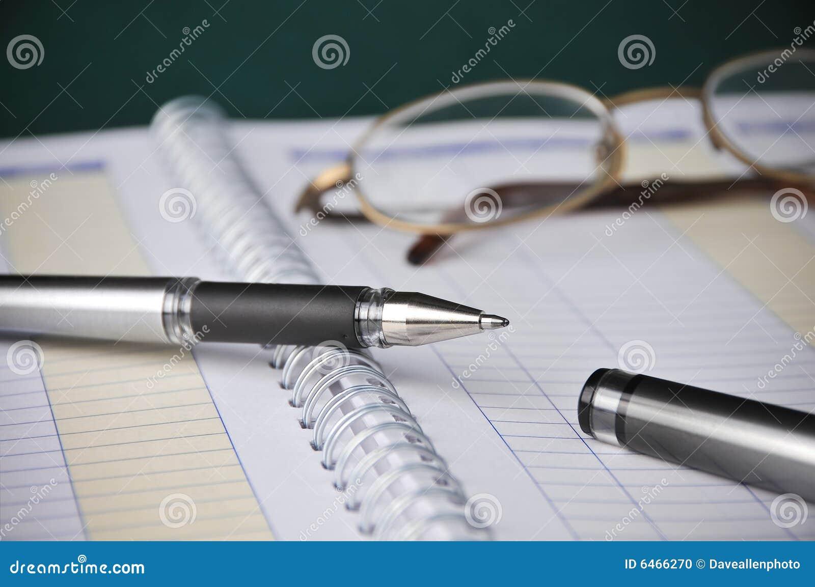 Zarezerwuj rachunkowości przedsiębiorstw kosztów mapy długopis