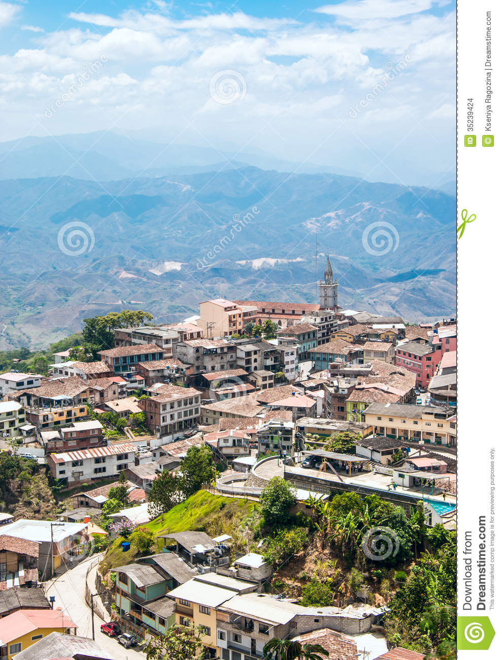 Zaruma - Town in the Andes,andes town