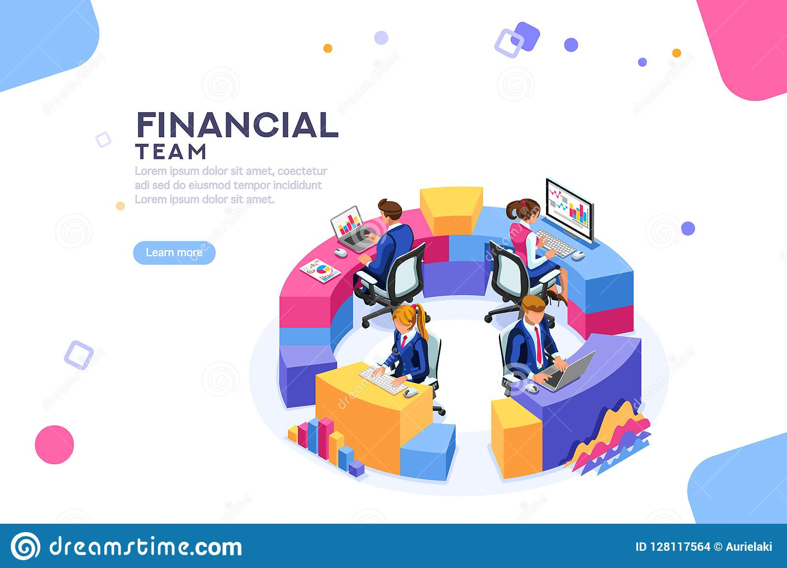 Zarządzanie Finansami współpracy strony internetowej szablonu sztandar